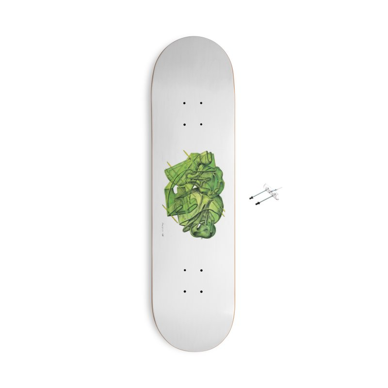 Drawing Blog No.5 - 1.11.13 Accessories Skateboard by schizo pop