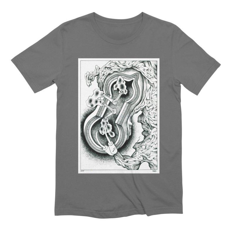 Open Pudding Surgery - 1 Men's T-Shirt by schizo pop