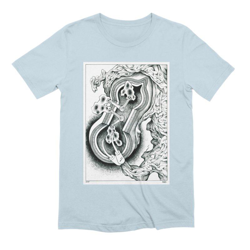 Open Pudding Surgery - 1 Men's Extra Soft T-Shirt by schizo pop