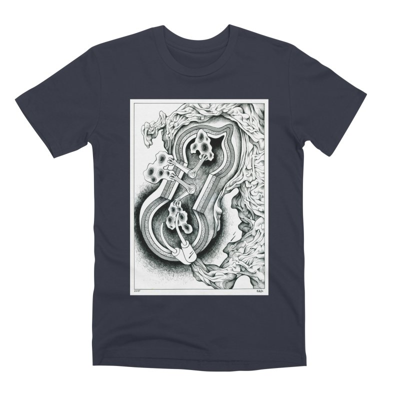 Open Pudding Surgery - 1 Men's Premium T-Shirt by schizo pop