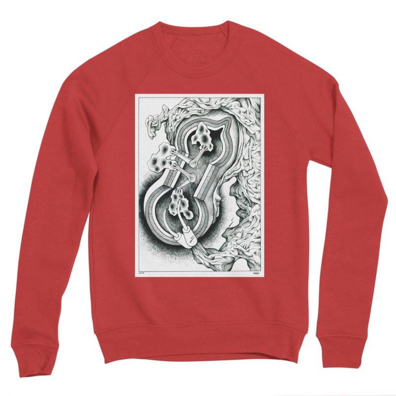 Open Pudding Surgery - 1 Men's Sponge Fleece Sweatshirt by schizo pop