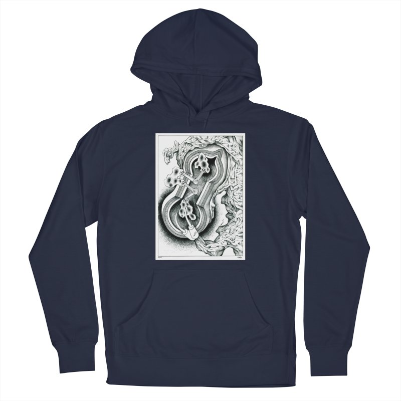 Open Pudding Surgery - 1 Men's Pullover Hoody by schizo pop