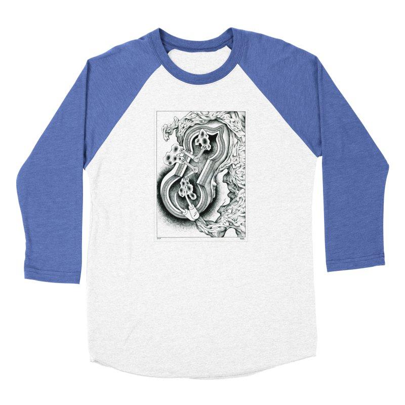 Open Pudding Surgery - 1 Men's Baseball Triblend Longsleeve T-Shirt by schizo pop
