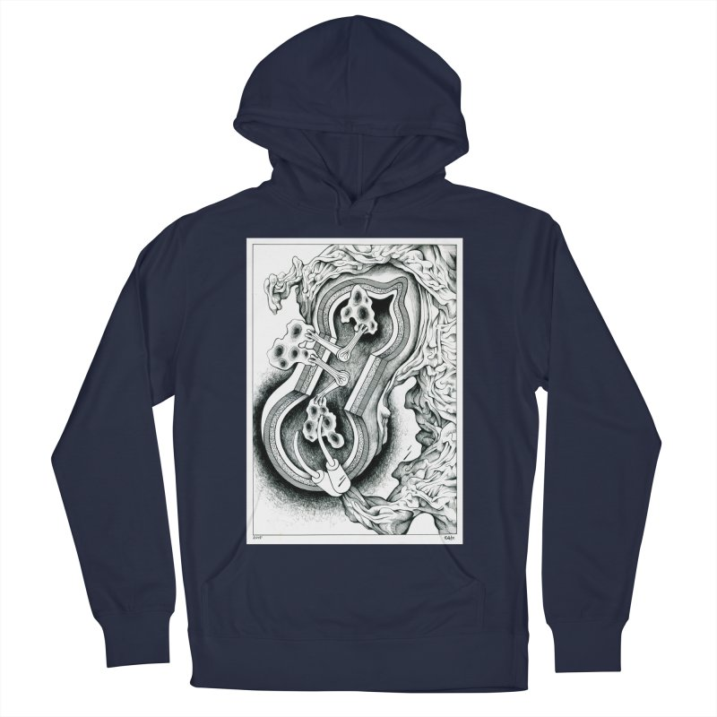Open Pudding Surgery - 1 Men's French Terry Pullover Hoody by schizo pop