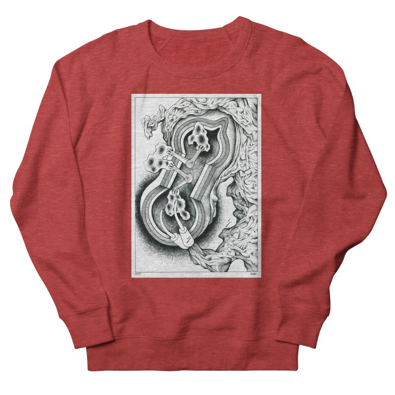 Open Pudding Surgery - 1 Women's French Terry Sweatshirt by schizo pop