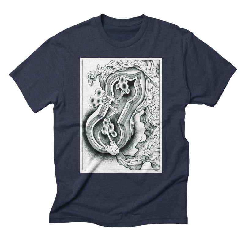 Open Pudding Surgery - 1 Men's Triblend T-Shirt by schizo pop