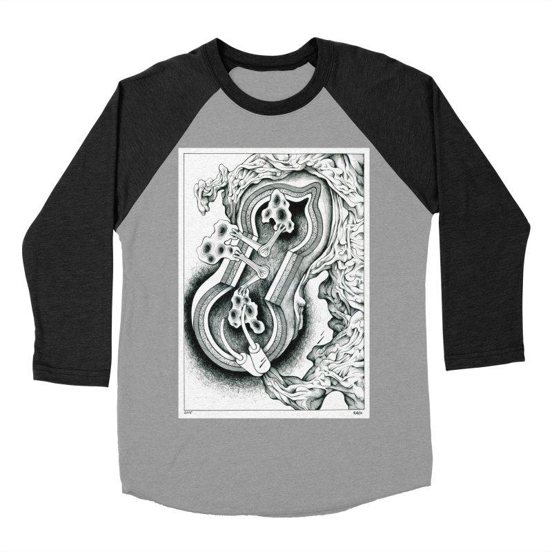 Open Pudding Surgery - 1 Women's Baseball Triblend Longsleeve T-Shirt by schizo pop