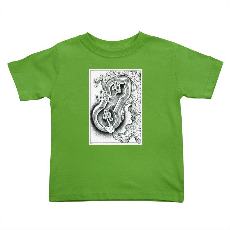 Open Pudding Surgery - 1 Kids Toddler T-Shirt by schizo pop