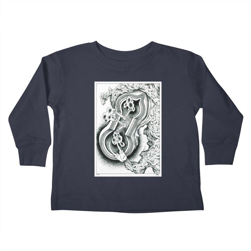Open Pudding Surgery - 1 Kids Toddler Longsleeve T-Shirt by schizo pop