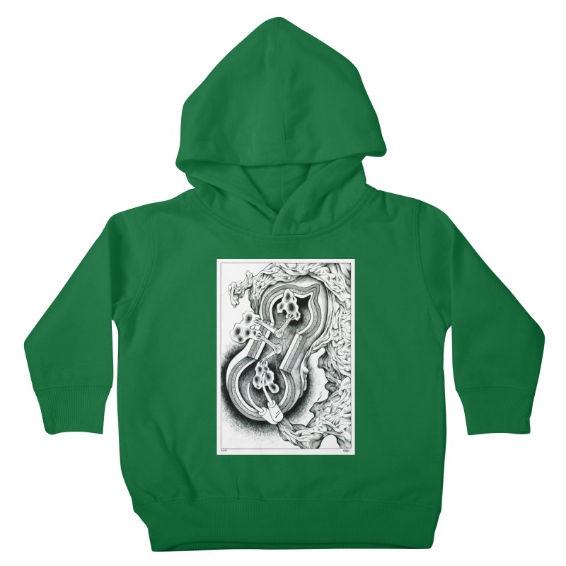 Open Pudding Surgery - 1 Kids Toddler Pullover Hoody by schizo pop