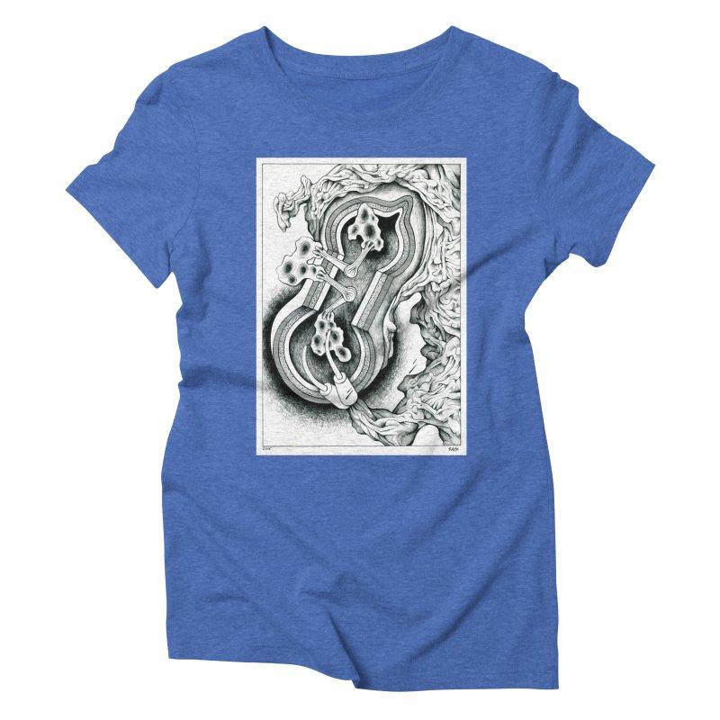 Open Pudding Surgery - 1 Women's Triblend T-Shirt by schizo pop