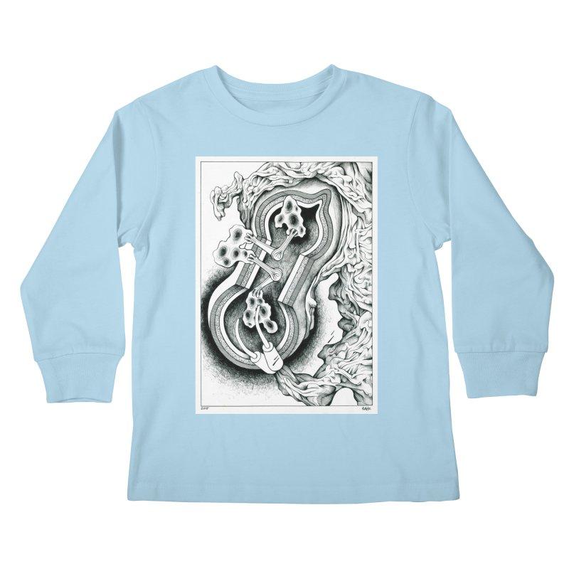 Open Pudding Surgery - 1 Kids Longsleeve T-Shirt by schizo pop