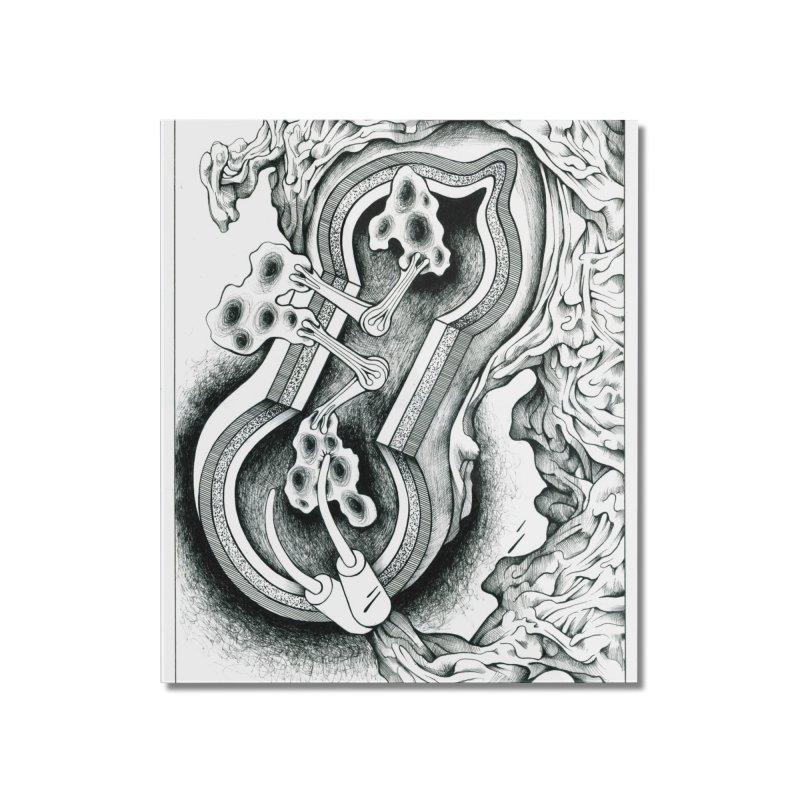 Open Pudding Surgery - 1 Home Mounted Acrylic Print by schizo pop