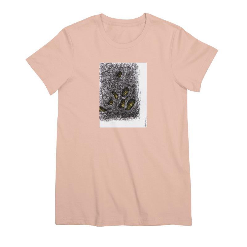 Drawing Blog No.2 - 9.6.09 Women's Premium T-Shirt by schizo pop