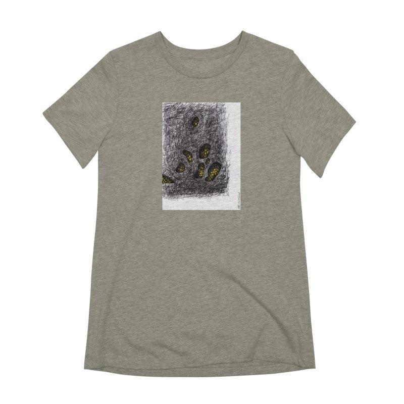 Drawing Blog No.2 - 9.6.09 Women's Extra Soft T-Shirt by schizo pop