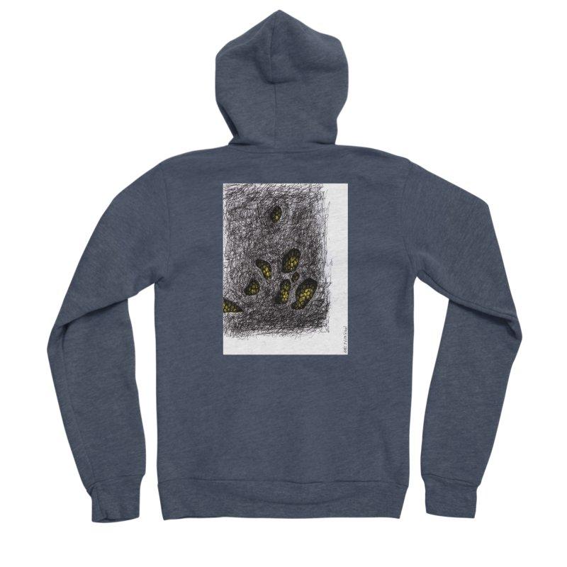 Drawing Blog No.2 - 9.6.09 Men's Sponge Fleece Zip-Up Hoody by schizo pop