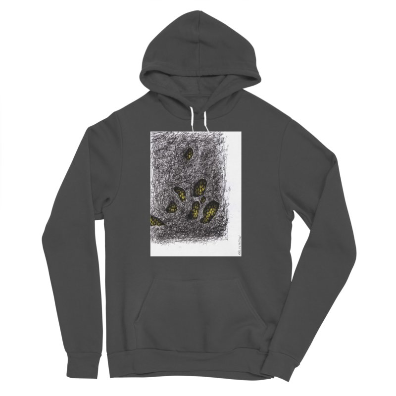 Drawing Blog No.2 - 9.6.09 Women's Sponge Fleece Pullover Hoody by schizo pop