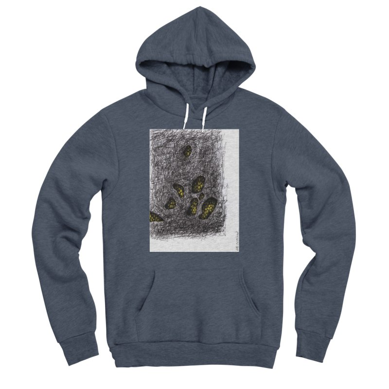 Drawing Blog No.2 - 9.6.09 Men's Sponge Fleece Pullover Hoody by schizo pop