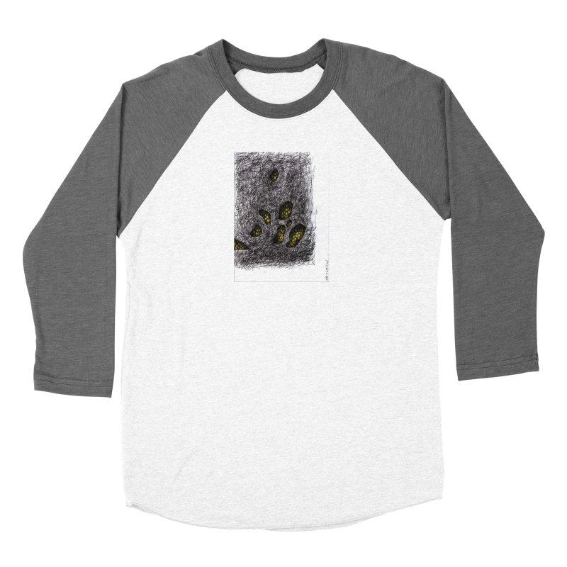 Drawing Blog No.2 - 9.6.09 Men's Baseball Triblend Longsleeve T-Shirt by schizo pop