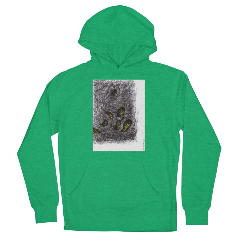 Drawing Blog No.2 - 9.6.09 Women's French Terry Pullover Hoody by schizo pop