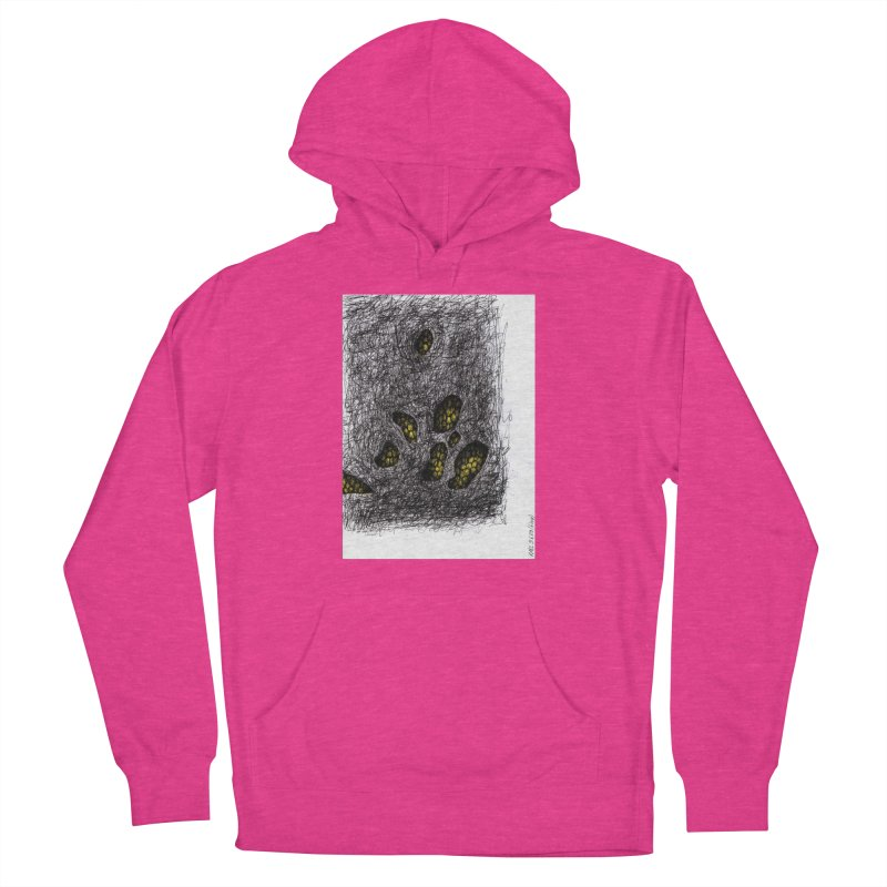 Drawing Blog No.2 - 9.6.09 Men's French Terry Pullover Hoody by schizo pop