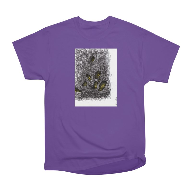 Drawing Blog No.2 - 9.6.09 Men's Heavyweight T-Shirt by schizo pop