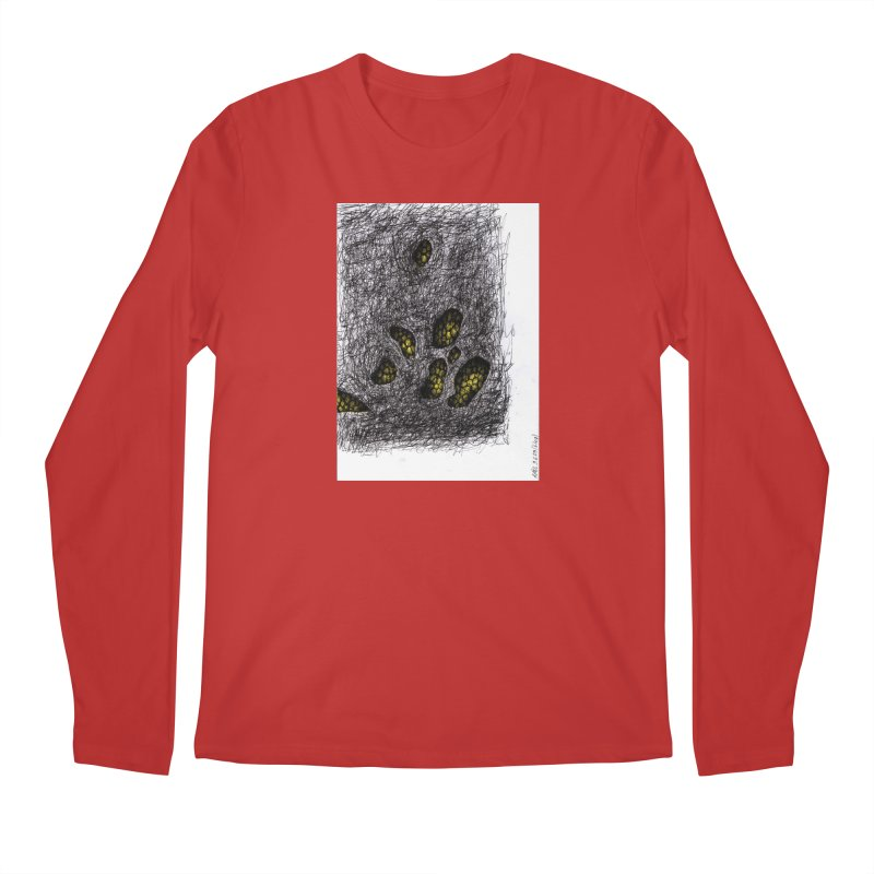 Drawing Blog No.2 - 9.6.09 Men's Regular Longsleeve T-Shirt by schizo pop