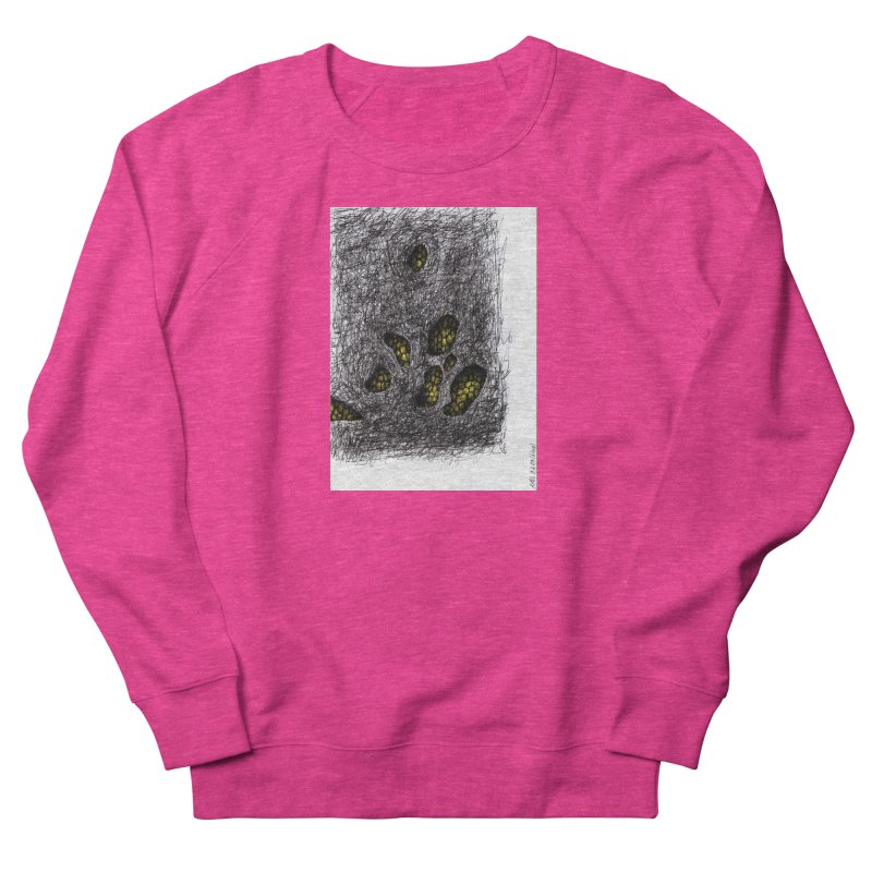 Drawing Blog No.2 - 9.6.09 Men's French Terry Sweatshirt by schizo pop