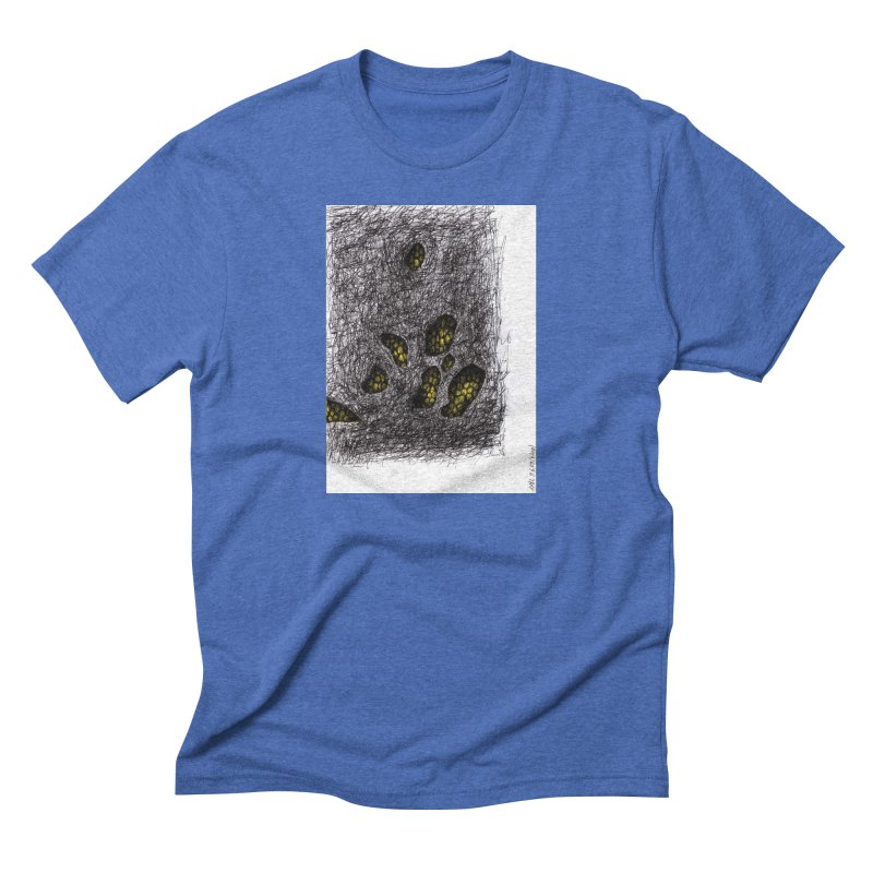 Drawing Blog No.2 - 9.6.09 Men's Triblend T-Shirt by schizo pop