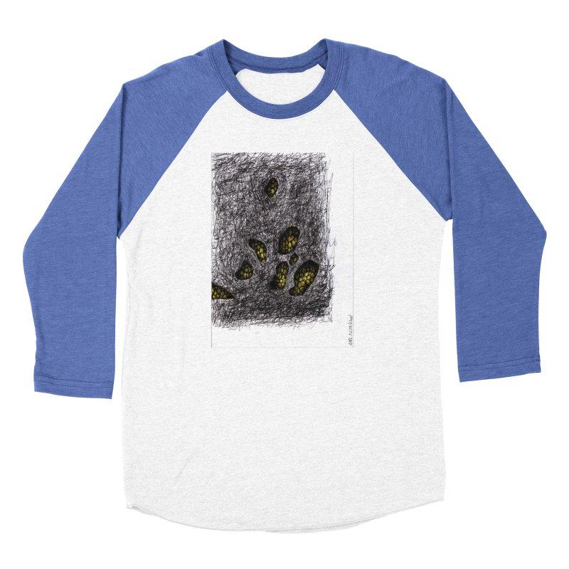 Drawing Blog No.2 - 9.6.09 Women's Baseball Triblend Longsleeve T-Shirt by schizo pop