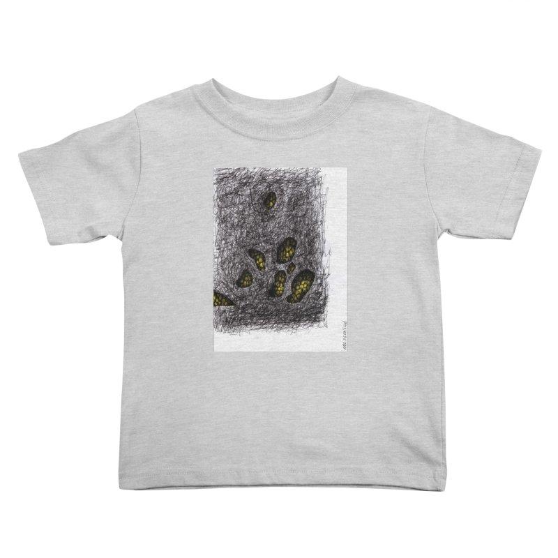 Drawing Blog No.2 - 9.6.09 Kids Toddler T-Shirt by schizo pop