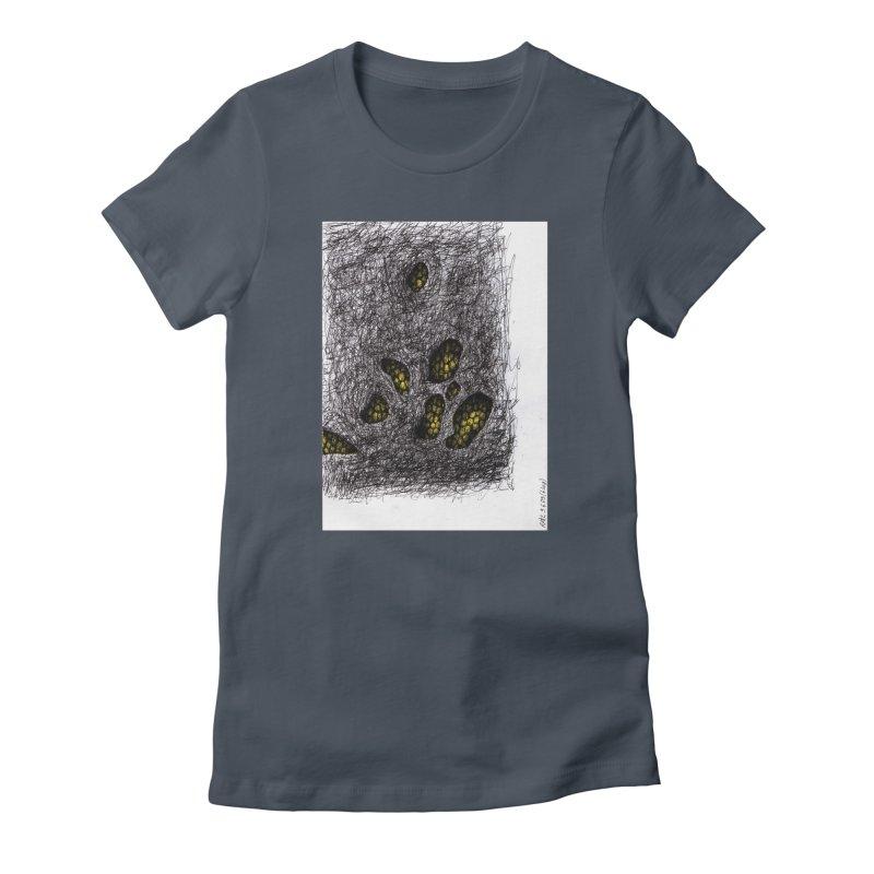 Drawing Blog No.2 - 9.6.09 Women's T-Shirt by schizo pop