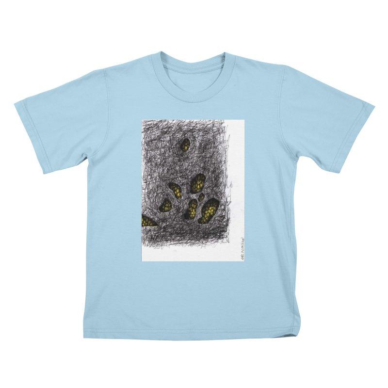 Drawing Blog No.2 - 9.6.09 Kids T-Shirt by schizo pop