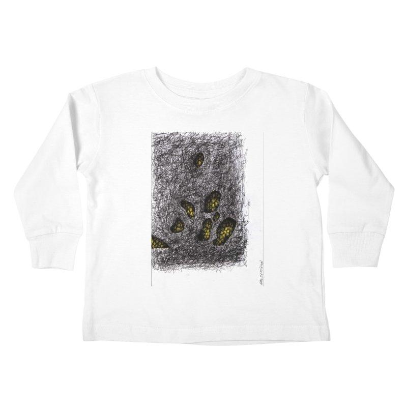 Drawing Blog No.2 - 9.6.09 Kids Toddler Longsleeve T-Shirt by schizo pop