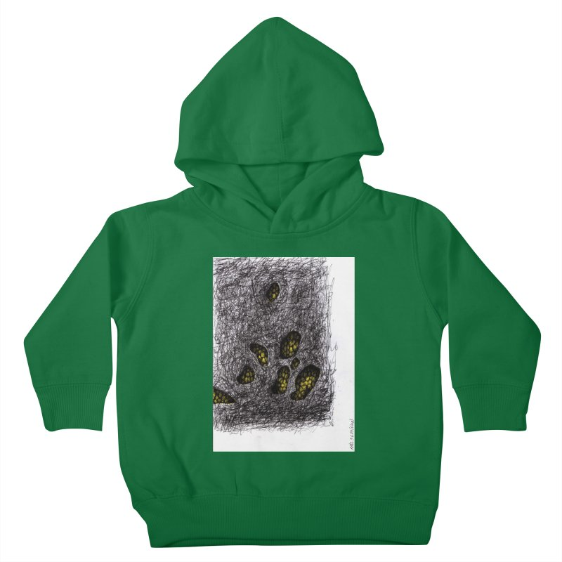 Drawing Blog No.2 - 9.6.09 Kids Toddler Pullover Hoody by schizo pop