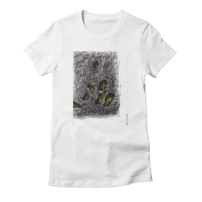 Drawing Blog No.2 - 9.6.09 Women's Fitted T-Shirt by schizo pop