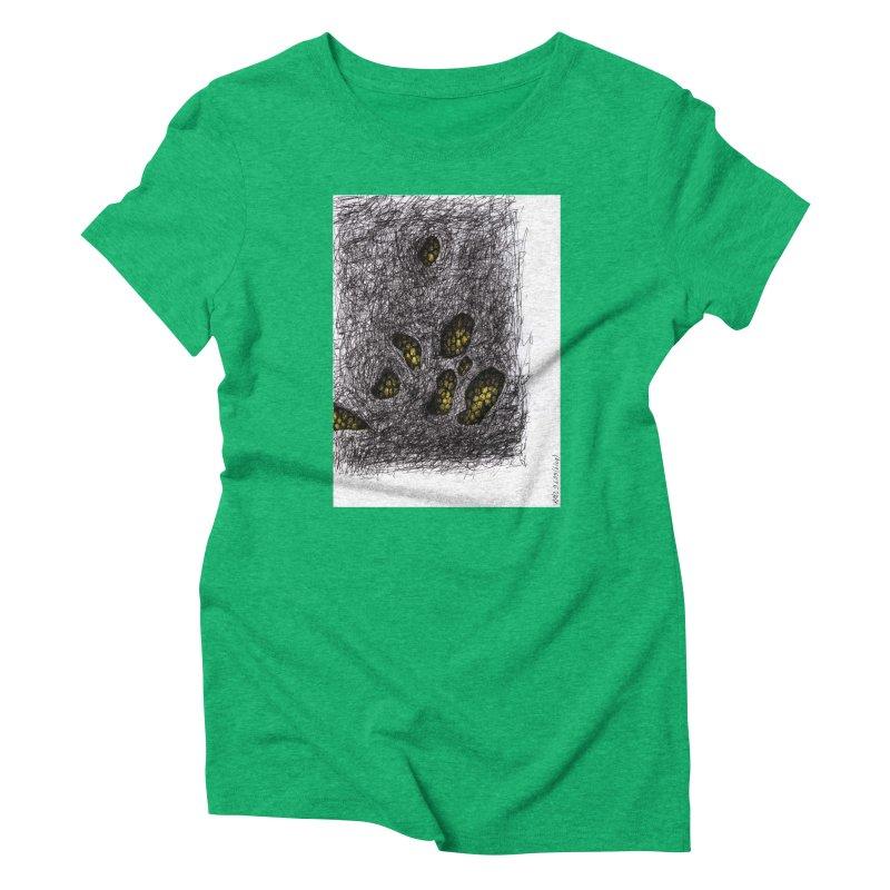 Drawing Blog No.2 - 9.6.09 Women's Triblend T-Shirt by schizo pop