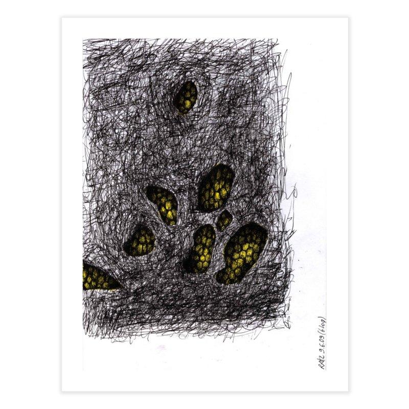 Drawing Blog No.2 - 9.6.09 Home Fine Art Print by schizo pop