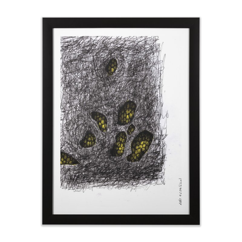 Drawing Blog No.2 - 9.6.09 Home Framed Fine Art Print by schizo pop