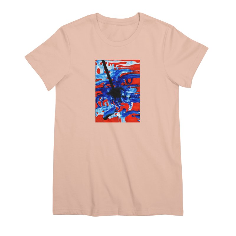 Drawing Blog No.2 - 1.3.09 Women's Premium T-Shirt by schizo pop