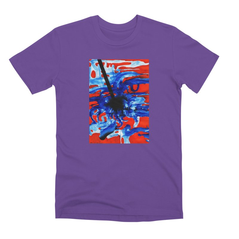 Drawing Blog No.2 - 1.3.09 Men's Premium T-Shirt by schizo pop