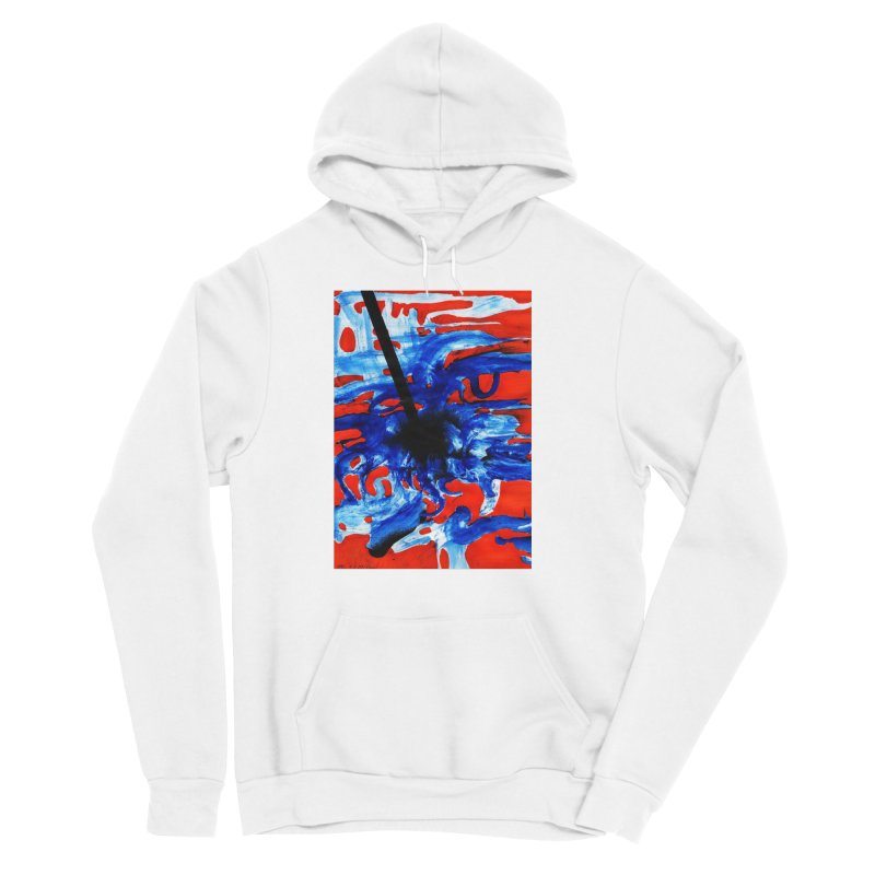 Drawing Blog No.2 - 1.3.09 Men's Sponge Fleece Pullover Hoody by schizo pop