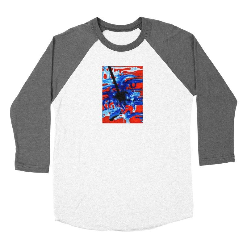 Drawing Blog No.2 - 1.3.09 Men's Baseball Triblend Longsleeve T-Shirt by schizo pop