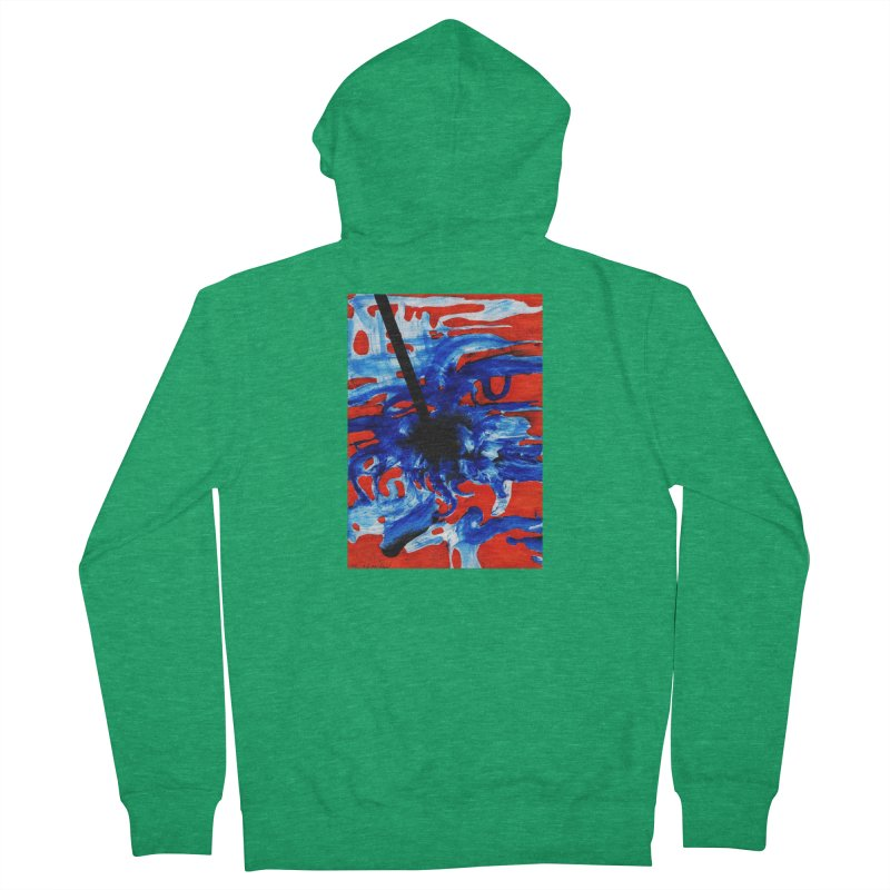 Drawing Blog No.2 - 1.3.09 Women's French Terry Zip-Up Hoody by schizo pop