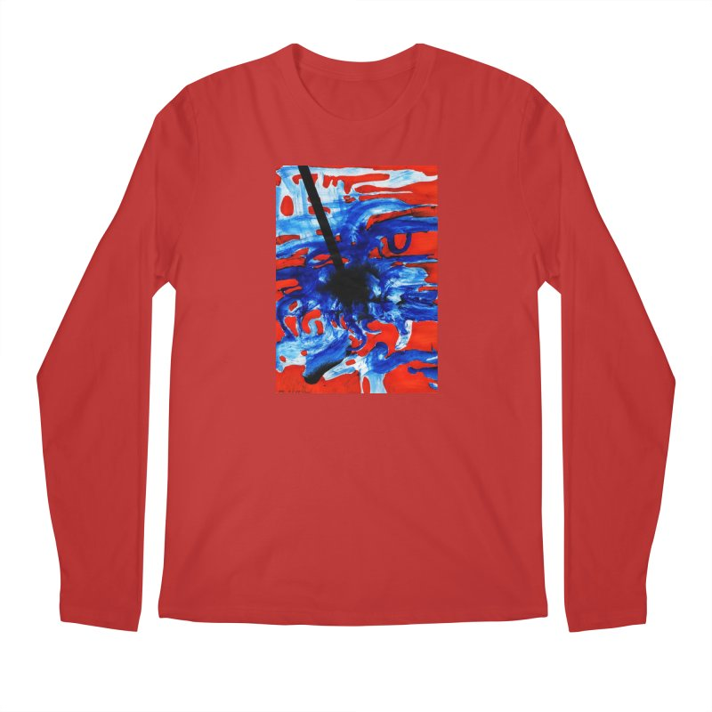 Drawing Blog No.2 - 1.3.09 Men's Regular Longsleeve T-Shirt by schizo pop