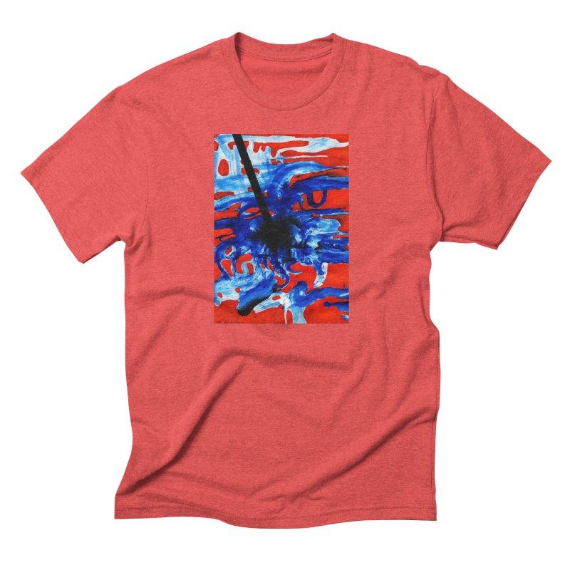 Drawing Blog No.2 - 1.3.09 Men's Triblend T-Shirt by schizo pop