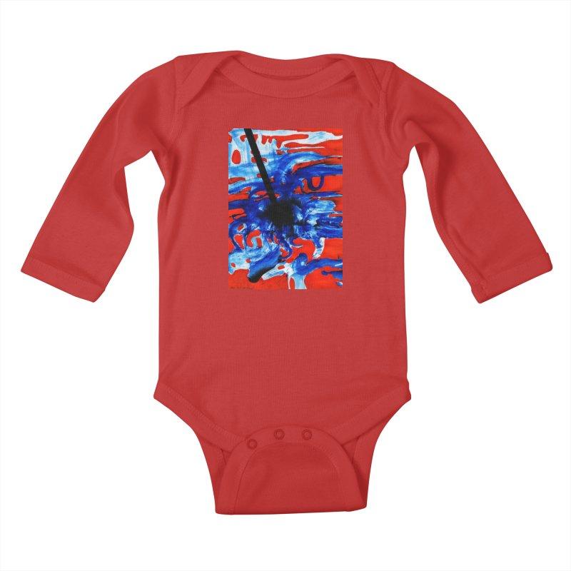 Drawing Blog No.2 - 1.3.09 Kids Baby Longsleeve Bodysuit by schizo pop