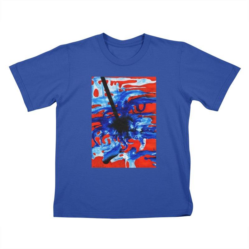 Drawing Blog No.2 - 1.3.09 Kids T-Shirt by schizo pop