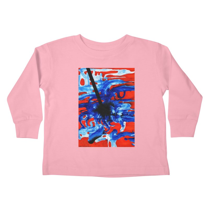 Drawing Blog No.2 - 1.3.09 Kids Toddler Longsleeve T-Shirt by schizo pop