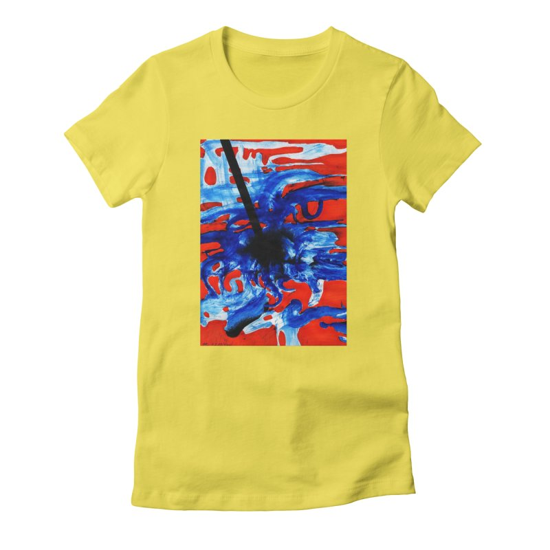 Drawing Blog No.2 - 1.3.09 Women's Fitted T-Shirt by schizo pop